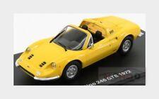 Ferrari Dino 246 Gts Spider 1972 Yellow EDICOLA 1:43 FERGTCOLL028