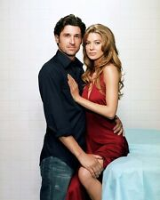 "PATRICK DEMPSEY & ELLEN POMPEO IN ""GREY'S ANATOMY"" 8X10 PUBLICITY PHOTO (ZY-266)"