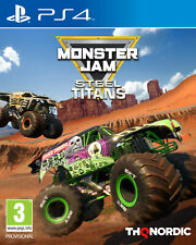 Monster Jam Steel Titans PS4 Game