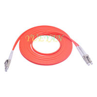 30M LC to LC Fiber Patch Cord Jumper Cable MM Duplex Multimode Optic for Network