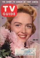 1960 TV Guide March 26 - Donna Reed; Danny Kaye; Lee Marvin; Janet Blair; Ringo