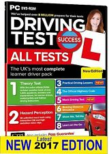 Latest 2017 Driving Theory Test Car & Hazard Perception Test PC CD DVD- ROM atPc