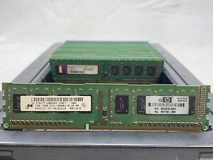 LOT 25 MICRON KINGSTON 1GB DDR3 PC3-10600 1333MHZ NONECC DESKTOP DIMM MEMORY RAM