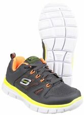 Chaussures gris Skechers pour garçon de 2 à 16 ans
