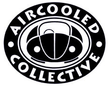 Aircooled Collective Sticker VW Beetle Club Bug Split Screen Bay Window Bus Bug