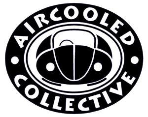 Aircooled Collective Sticker VW Beetle Club Bug Split Screen Bay Window Bus Bug
