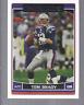 2006 Topps Football Card #150 Tom Brady