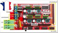 Carte ramps 1.4 pour arduino mega - Idéal imprimante 3d reprap, prusa, cnc...