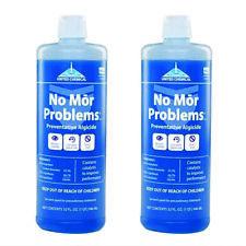 2 Pack No Mor Problems Swimming Pool Algaecide 1 Quart United Chemical NMP-C12