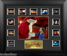 Film Cell Genuine Framed Matted Polar Express S1 Mini Montage Film Cell USFC6284