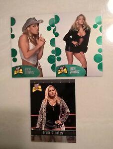 lot of 3 Trish Stratus WWF 2001 Fleer ULTIMATE DIVA Collection cads WWE HOF