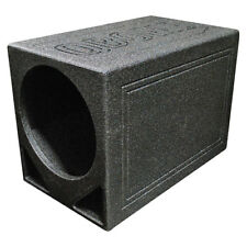 "Q Power QBOMB12TB Single 12"" Triangle Ported Car Audio Subwoofer Box Enclosure"