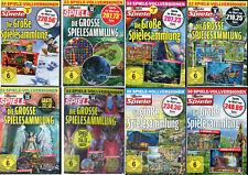 Die Große Spielesammlung Vol. 4/5/6/7/8/9/12/13/14/15 ü.30 Vollversionen Auswahl