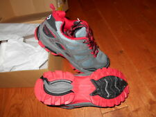 Pacific Trail Tioga Men's Hiking Shoes size 7 Charcoal gray red black NEW NIB