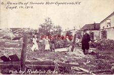 6. family surveys damage RESULTS OF TORNADO NEAR SYRACUSE, N.Y. SEPT. 15, 1912
