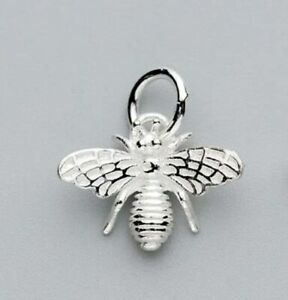 925 Bumble Bee Necklace Sterling Silver Marked + 45cm Chain + Gift Bag UK