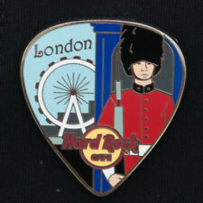 Hard Rock Cafe Pin LONDON Postcard GUITAR PICK series ROYAL GUARD FERRIS WHEEL