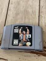 WWF Warzone N64 Nintendo 64 Authentic OEM Game Tested ! Working !