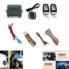 Car Alarm System Security Ignition Engine Start Push Button Remote - New