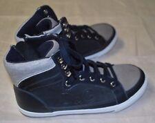 Bnwt wunderschöne DESIGNER d&g Dolce & GABBANA High Top Sneaker Schuh 36 4