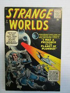 STRANGE WORLDS #2 COMIC -- FEBRUARY 1959