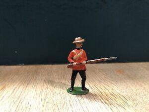 Britains: Unlisted Countertop Figure - CIV In Red.  Pre War c1905