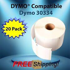 30334 Dymo® Compatible 20 Roll Each Medium Multipurpose URBO CoStar® SE200 SE250