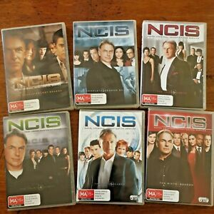 NCIS DVD COMPLETE Season 1-6 (First Second Third Fourth Fifth Sixth) R4 LIKE NEW