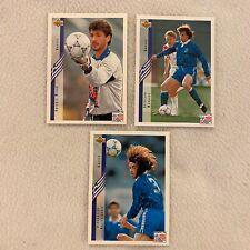 GREECE : UPPER DECK  TRADING 3 CARD WORLD CUP 1994