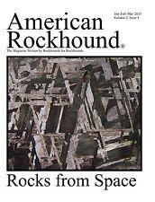American Rockhound Magazine, Volume 2, Issue 5, Rocks from Space! Print version