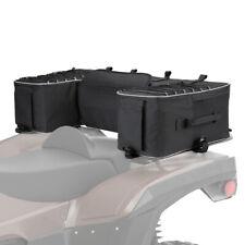 Kemimoto ATV Rear Storage Bag Pack Cargo Gear Seat Bags w/ Cushion Pad Universal