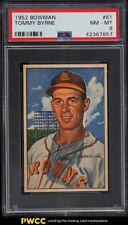 1952 Bowman Tommy Byrne #61 PSA 8 NM-MT (PWCC)