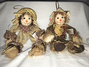 Two Dan Dee Scarecrow