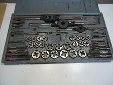 Craftsman tap & die used tool set machinist metalworking