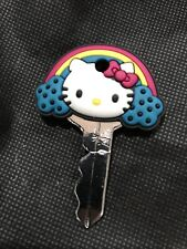 Hello Kitty colorful rainbows Loungefly Key Cap New Without Tag Fits Most Keys