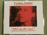 FIONA APPLE FAST AS YOU CAN RARE 3 TRACK IMPORT CD SINGLE FREE SHIPPING