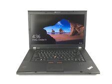 "C Grade Lenovo ThinkPad W530 15.6"" Intel i7 8GB RAM 500GB HDD WiFi Win 10 Laptop"