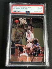 MICHAEL JORDAN 1998 UPPER DECK MJX #123 4TH QUARTER FOIL CARD MINT PSA 9 NBA MJ