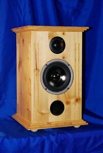 PINUS MEX 400 Lautsprecher Boxen PAAR 2x70/180 Watt HOLZ FICHTE LANDHAUS-STIL