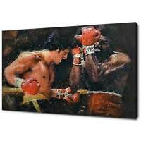 ROCKY APOLLO CREED CANVAS PICTURE PRINT CONCEPT WALL ART FREE DELIVERY