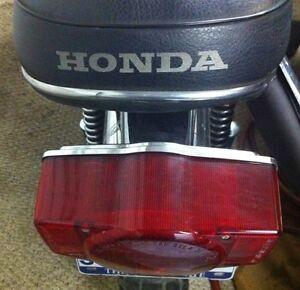 HONDA LOGO SEAT STENCIL CT70 Z50 CT90 CB350-CB750