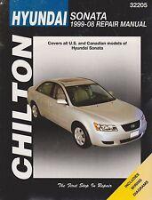 1999-2008 Chilton Hyundai Sonata Repair Manual
