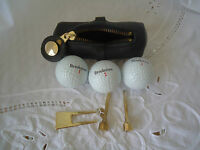 Divot Repair Golfers Tool Tote Tees Brookstone Balls