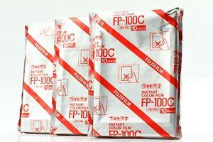 """BRAND NEW 3 Packs 03/2014"" FujiFilm FP-100C Pro Instant Color Film JAPAN #1459"