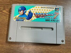 FREE SHIPPING  SUPER Famicom ROCKMAN 7