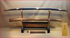 Japanese Samurai real sword Katana sharp steel blade Shirasaya Nobushige antique