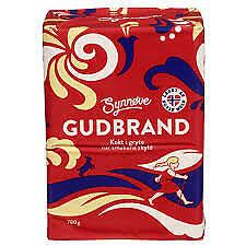 Norwegian Brown Cheese Gudbrand  780gr Rich of Jod Calcium Vitam A Brunost