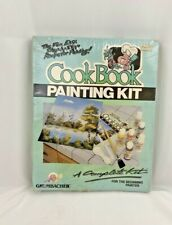 Vtg Grumbacher New Cookbook Painting Kit Unique Method For Introductory Painting