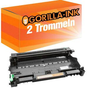 2x Trommel XL für Brother HL2140 HL2150 HL2170 N DCP7030 DCP7040 MFC7320 DR2100