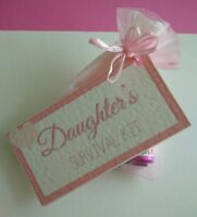 *DAUGHTER'S SURVIVAL KIT* unusual  birthday wedding Christmas Thank You Gift